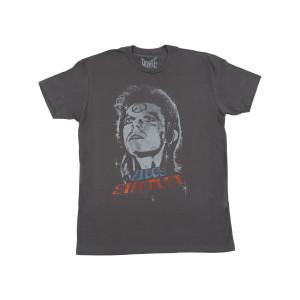 David Bowie Ziggy Vintage Ladies Crew T-shirt