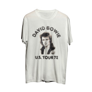 Bowie Black and White Face T-Shirt