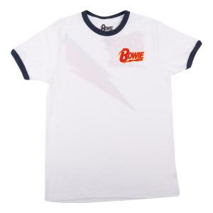 David Bowie Rebel Rebel Ringer T-shirt