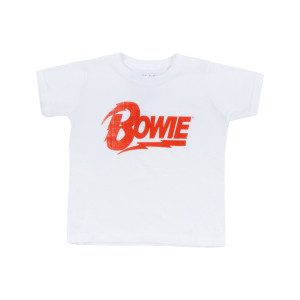 Bowie Lightning Logo Toddler Thermal T-shirt