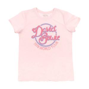 David Bowie World Tour 78 Ladies Plus Size T-shirt