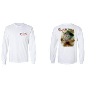 David Bowie Outside 25th Anniversary White Longsleeve T-Shirt