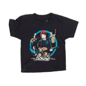 Bowie Circle Photo Collage Kids T-Shirt