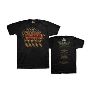 David Bowie Phoenix Festival '97 Black T-shirt