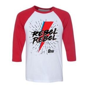Rad Rebel Youth Raglan