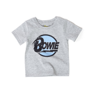 Bowie Circle Logo Grey Kids T-Shirt