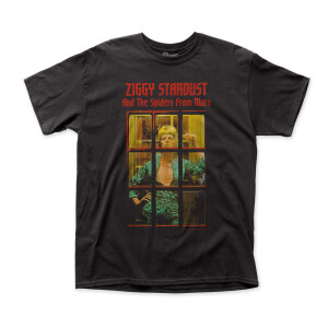 David Bowie - Ziggy Phone Booth T-Shirt