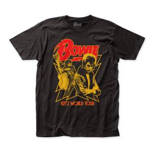 David Bowie - 1972 World Tour T-Shirt