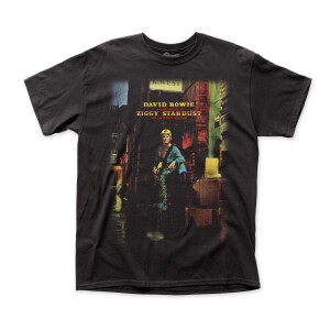 David Bowie  - Ziggy Plays Guitar T-Shirt