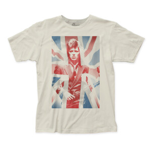 David Bowie  - Union Jack T-Shirt