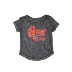 Bowie 1974 Toddler Grey Tee