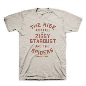 The Rise and Fall of Ziggy Stardust T-Shirt