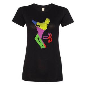 Women's Glass Spider Color Block T-Shirt