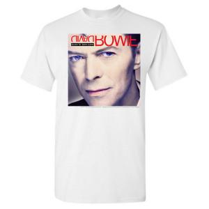 Black Tie White Noise Album Art T-Shirt
