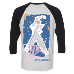 Let's Dance Tour '83 Raglan