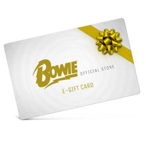David Bowie eGift Card