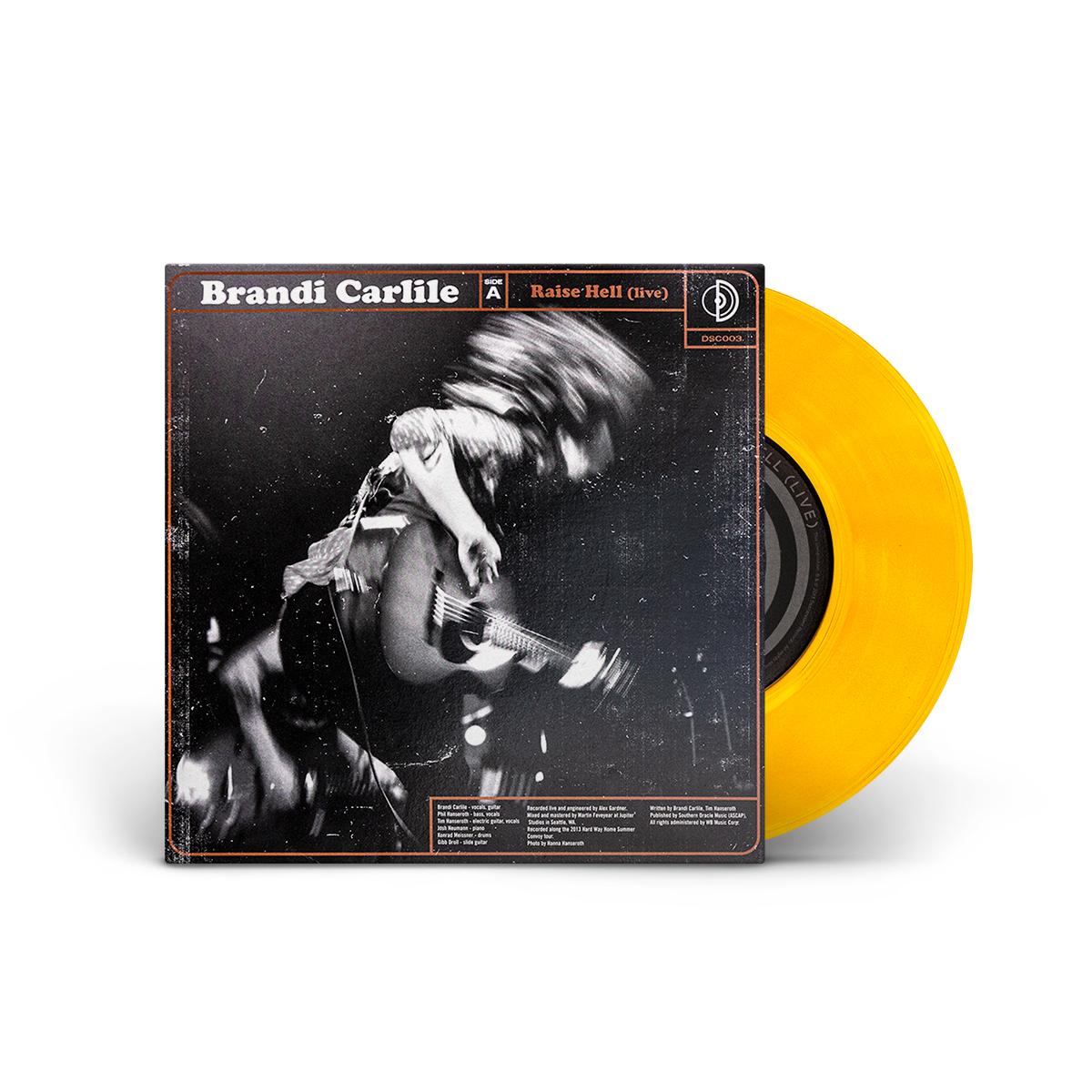 """Brandi Carlile / The Lone Bellow Live Split 7"""" LP"""