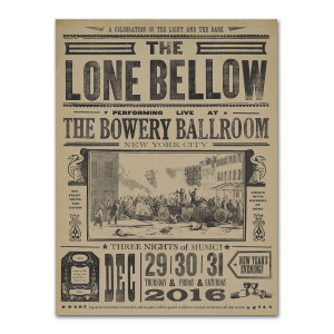 Bowery Ballroom Poster