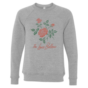 Unisex Red Rose Sweatshirt