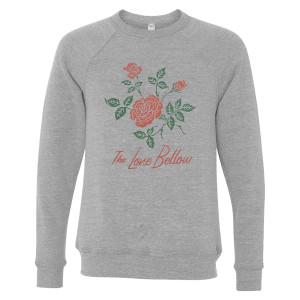 Unisex Red Rose Sweatshirt