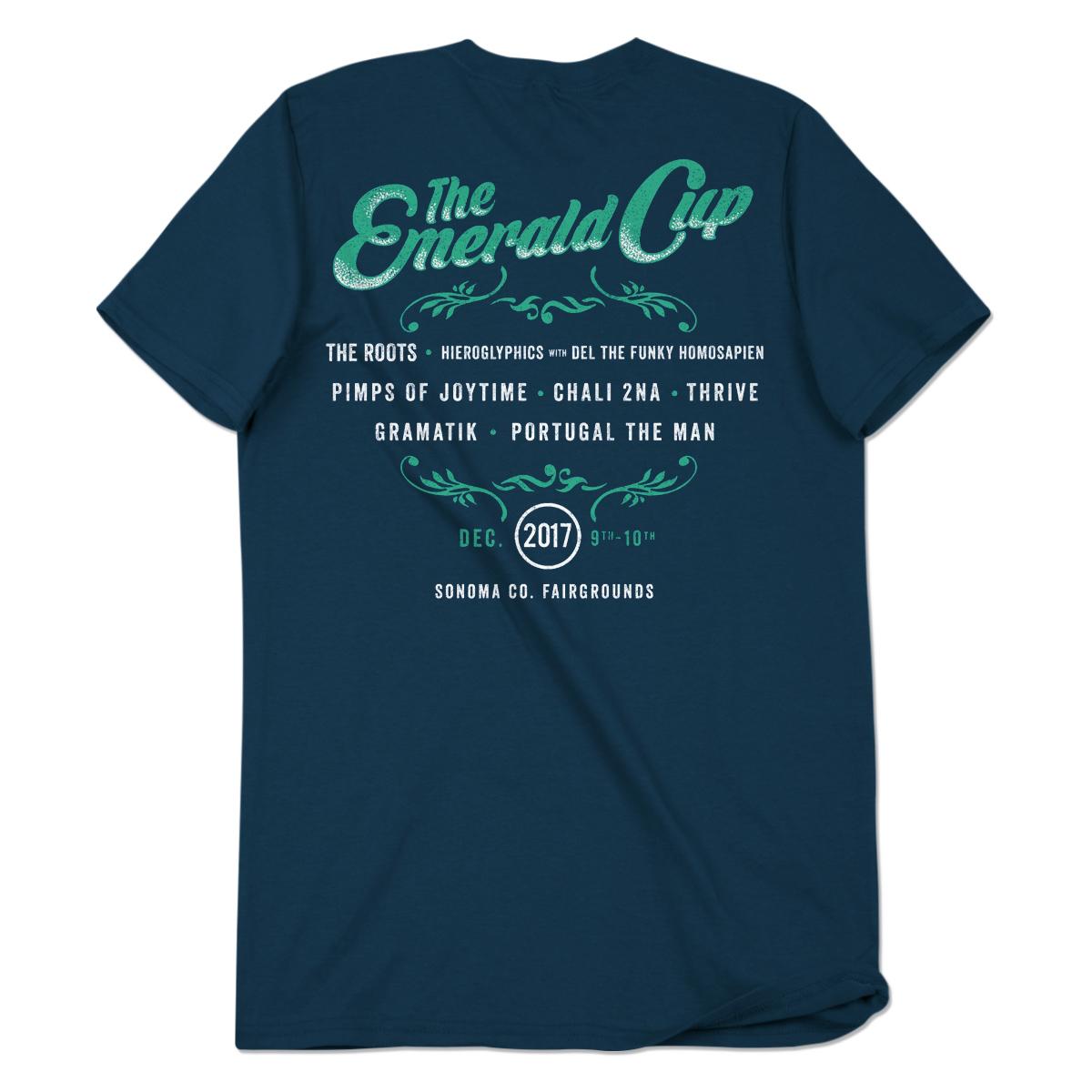 2017 Emerald Cup Event Shirt - Men