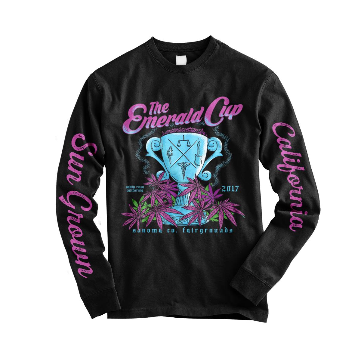 2017 Emerald Cup LS Event Shirt