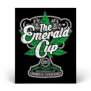 2017 Emerald Cup Event Sticker