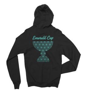 Emerald Cup Organic Black Hoodie