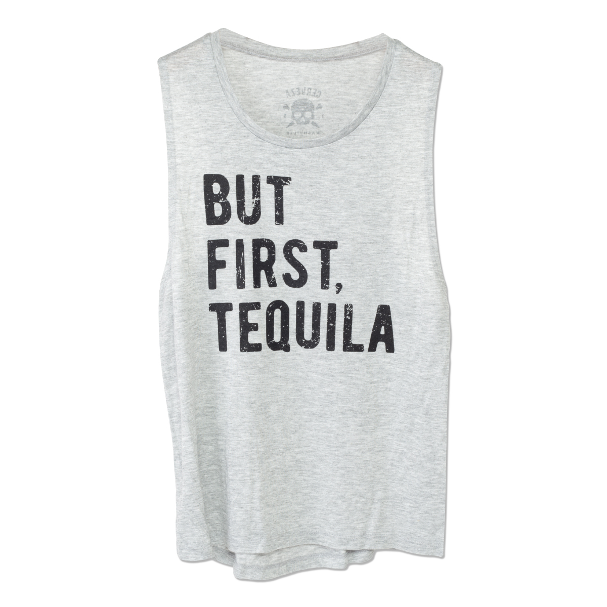 Women's But First Tequila Tank