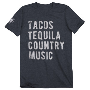 Tacos Tequila Country Music Tee