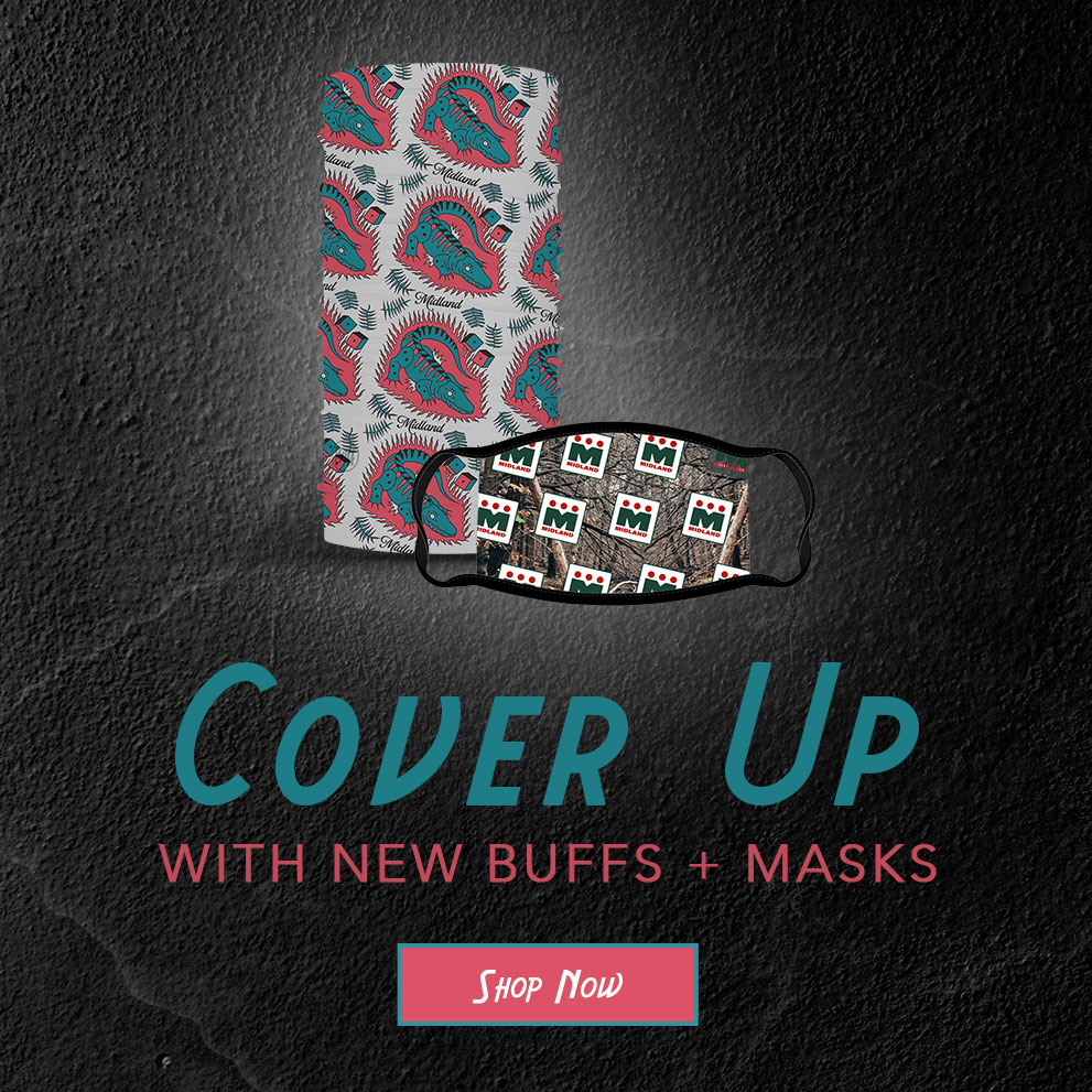Cover Up with new buffs and masks | Shop Now