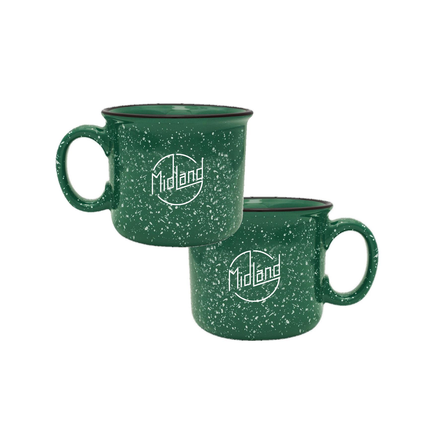 Midland Green Camper Mug