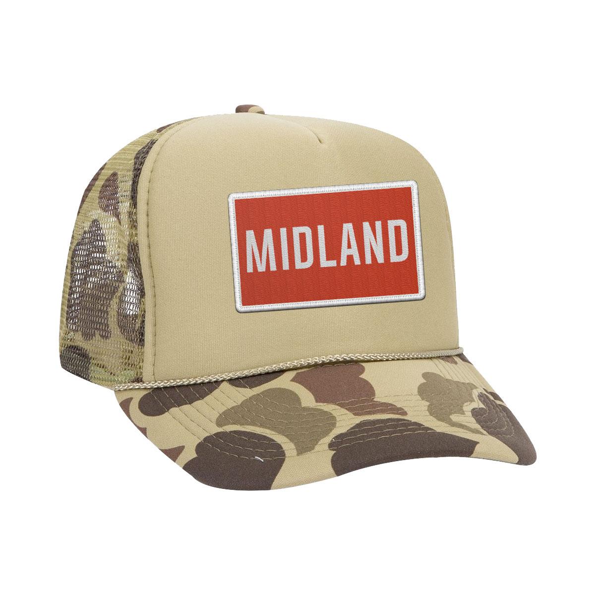 Midland Camo Trucker Hat