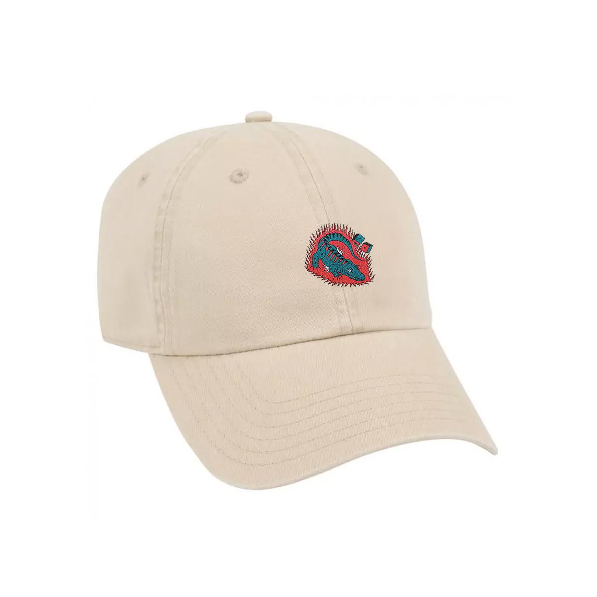 Tan Gator Dad Hat