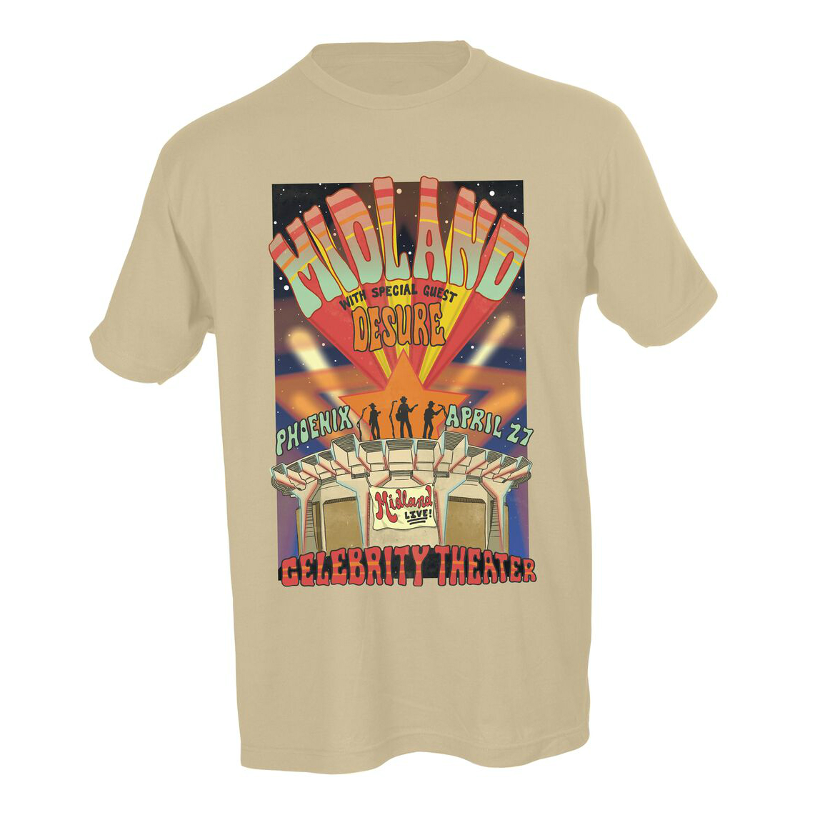 Celebrity Theater Natural T-Shirt