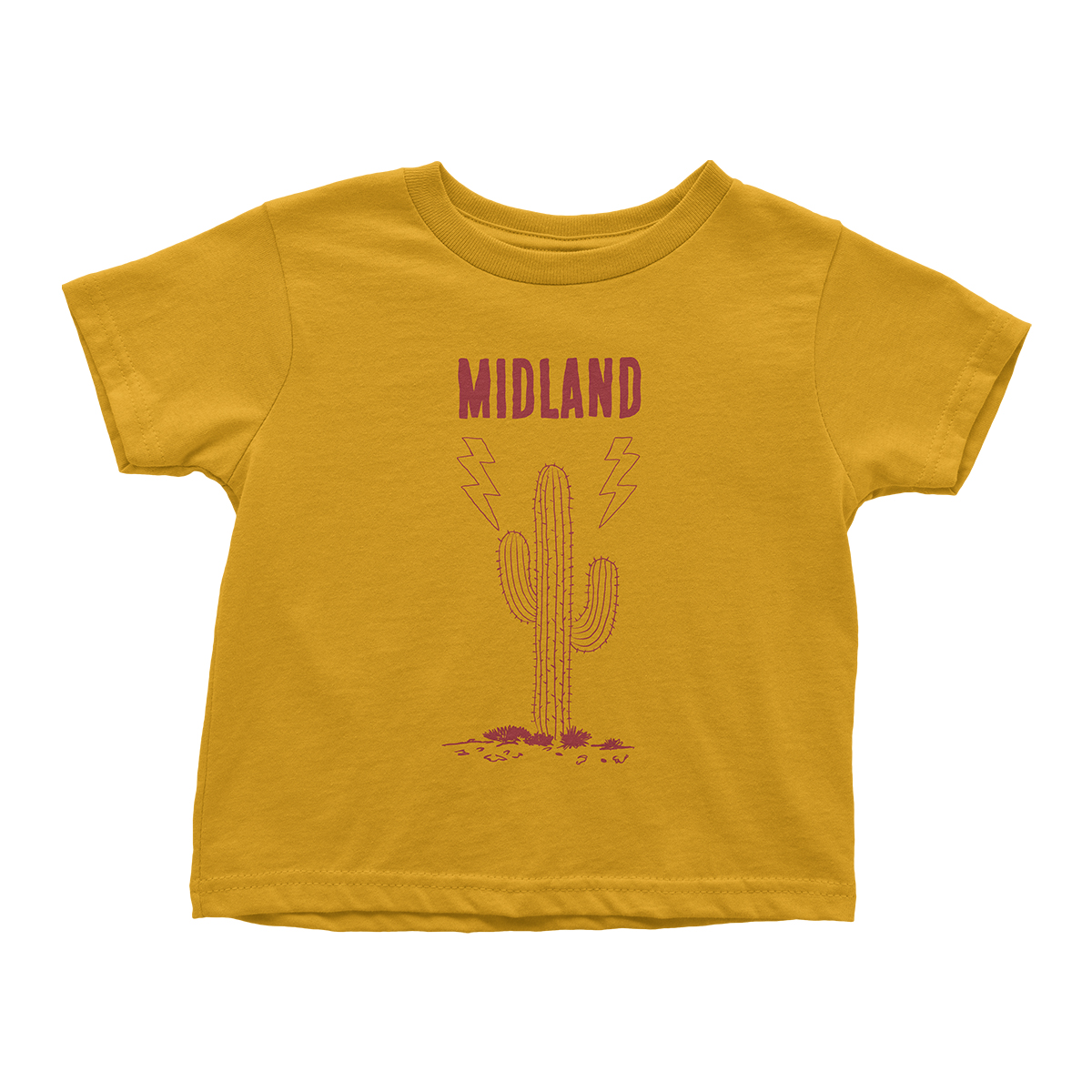 Yellow Cactus Toddler T-Shirt