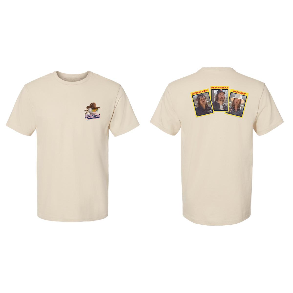 Frisco, TX Baseball Card T-Shirt
