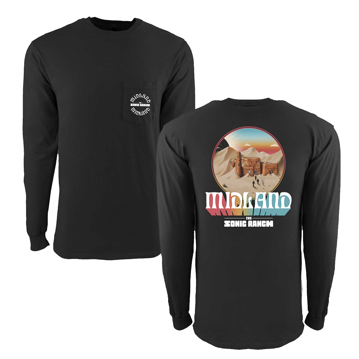 The Sonic Ranch Pocket Long Sleeve T-Shirt