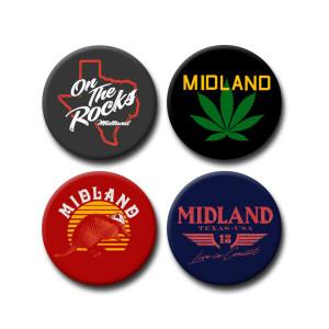 Midland 4-Button Set