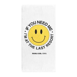 The Last Resort Smiley Towel