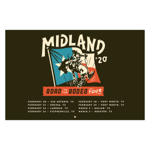 Road to the Rodeo Lithograph