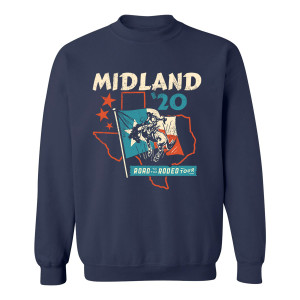 Road to the Rodeo Crewneck