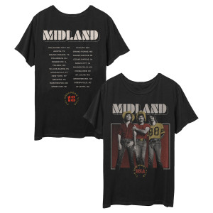 Midland Breaker Photo Tour T-Shirt