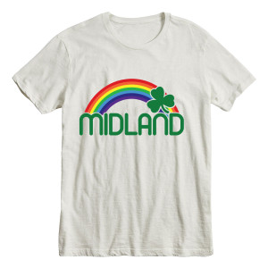 Midland Lucky Rainbow White T-Shirt