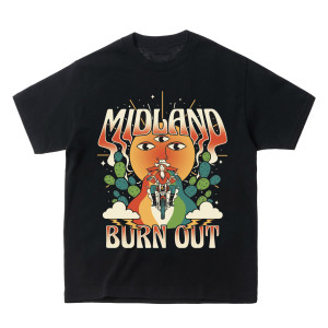Burn Out Moto T-Shirt