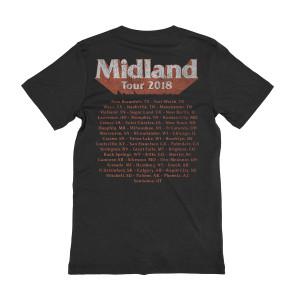 Distressed Photo Dateback T-shirt