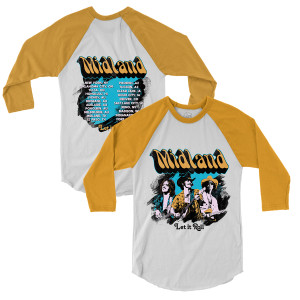 Groovy Let It Roll Raglan