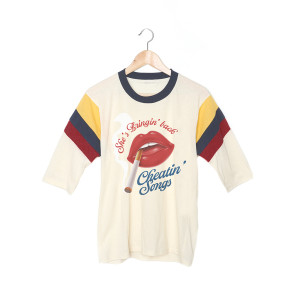 Cheatin' Songs 3/4 Sleeve T-Shirt