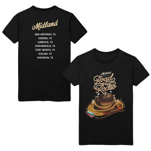 Road to the Rodeo Dateback T-shirt