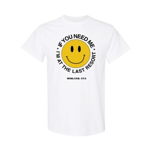 The Last Resort Smiley T-Shirt